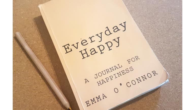 Everyday Happy a journal for happiness